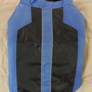 New Blue and Black Pet Jacket Coat Medium/Large So